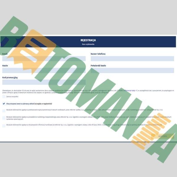 Rejestracja w eWinner 1