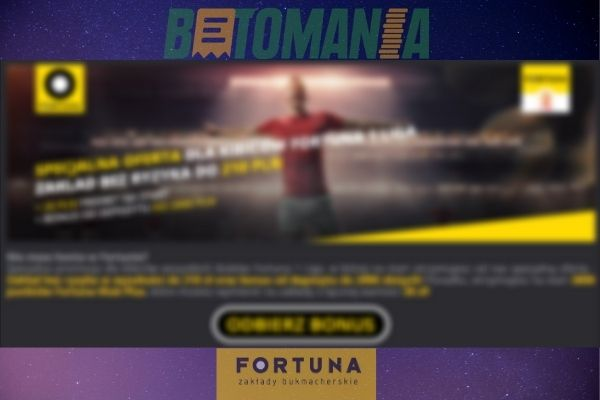 Fortuna bonusy