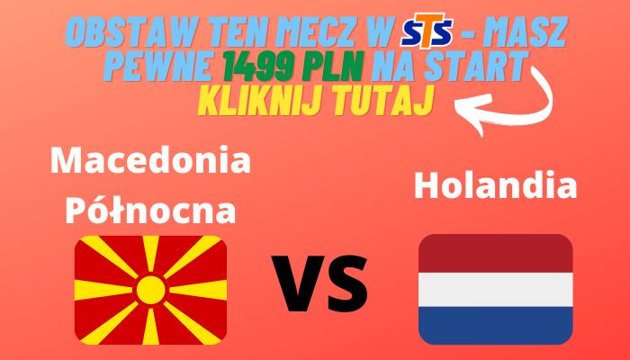 Macedonia Północna - Holandia - kursy
