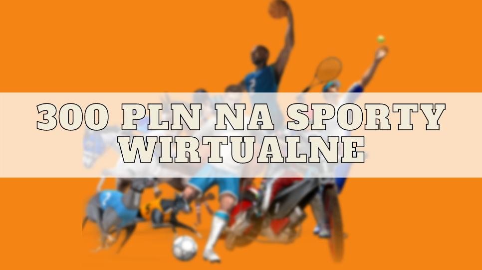 Bonus powitalny 300 zł na sporty wirtualne w Noblebet