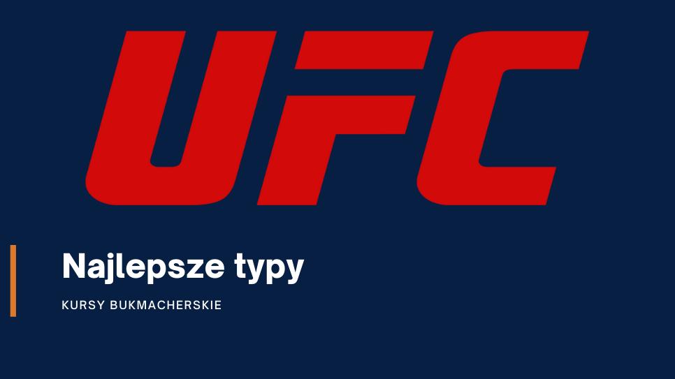 Darmowe typy na UFC – najlepsze typy w Internecie