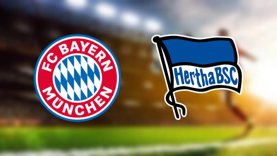 Bayern Monachium Hertha Berlin kursy
